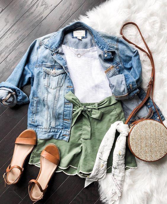 Sommer-Outfit-Ideen für Mode-Mädchen, die nur Wohnungen tragen #springsummeroutfits
