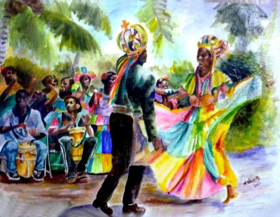 Pintura de wever arauz marco panama panama en pinturas for Marcos para pinturas