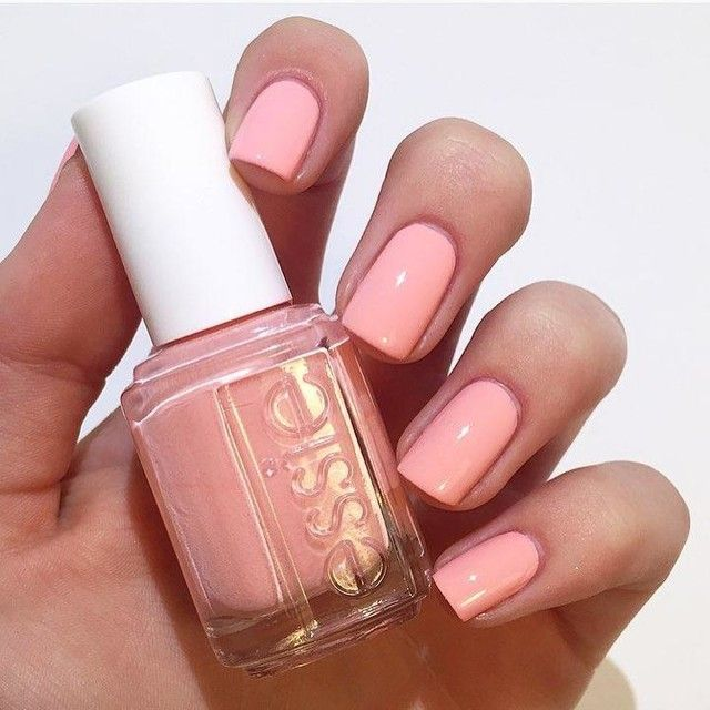 It\'s #manimonday and I am wearing #essie \'Van D\'Go\', a peachy keen ...