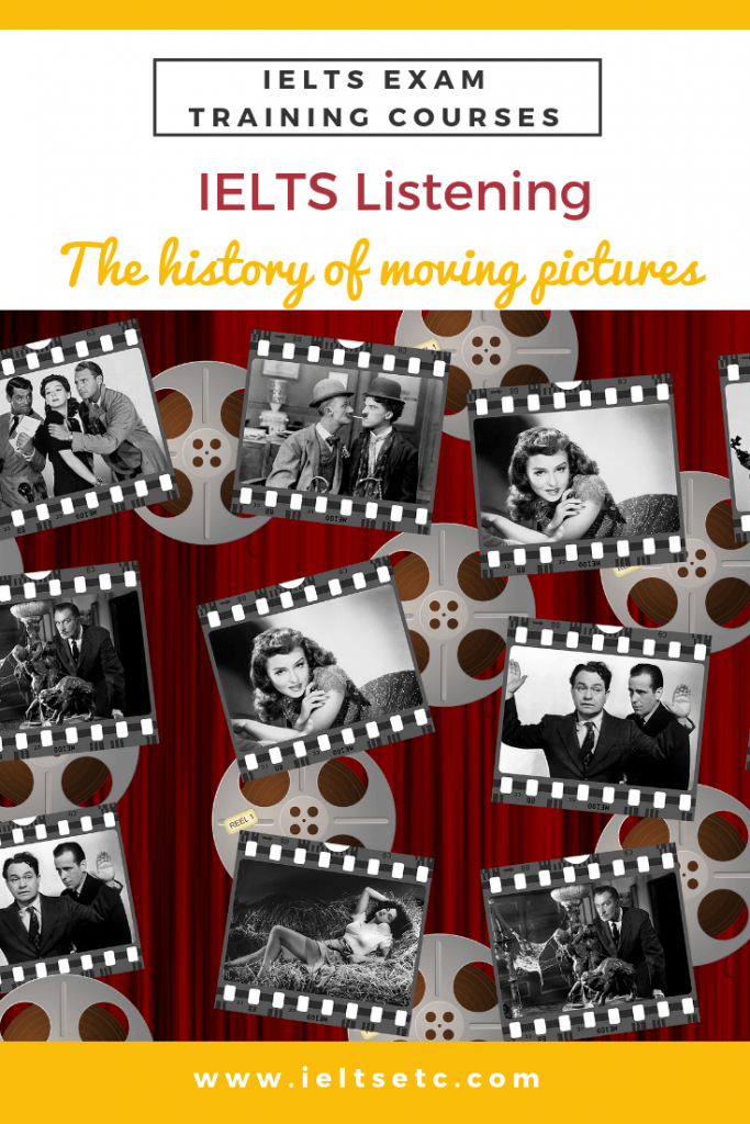 IELTS Listening The history of moving pictures (With