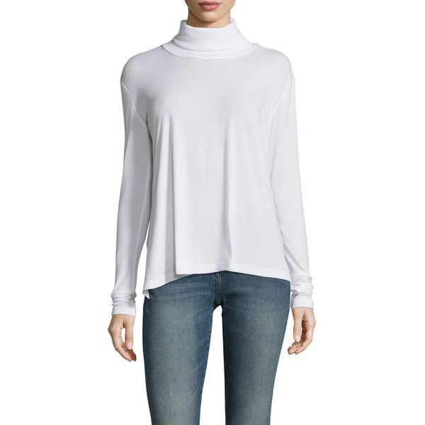 Firth Women's Turtleneck Cotton Sweater - White - Size M ($55 ...