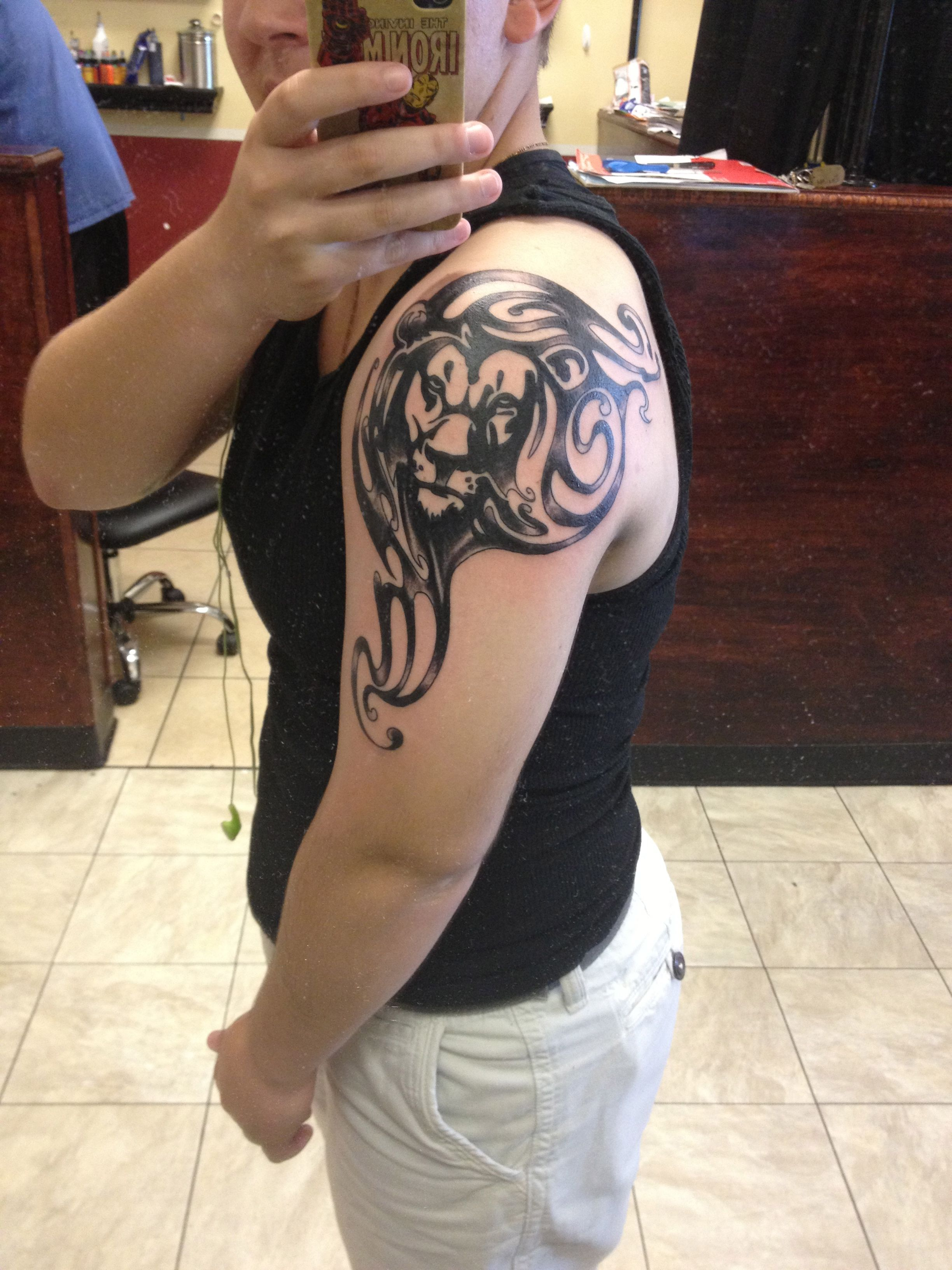 New tribal sagittarius tattoo for girls and women tattoobite com - Tattoo 5 Tribal Leo Lion
