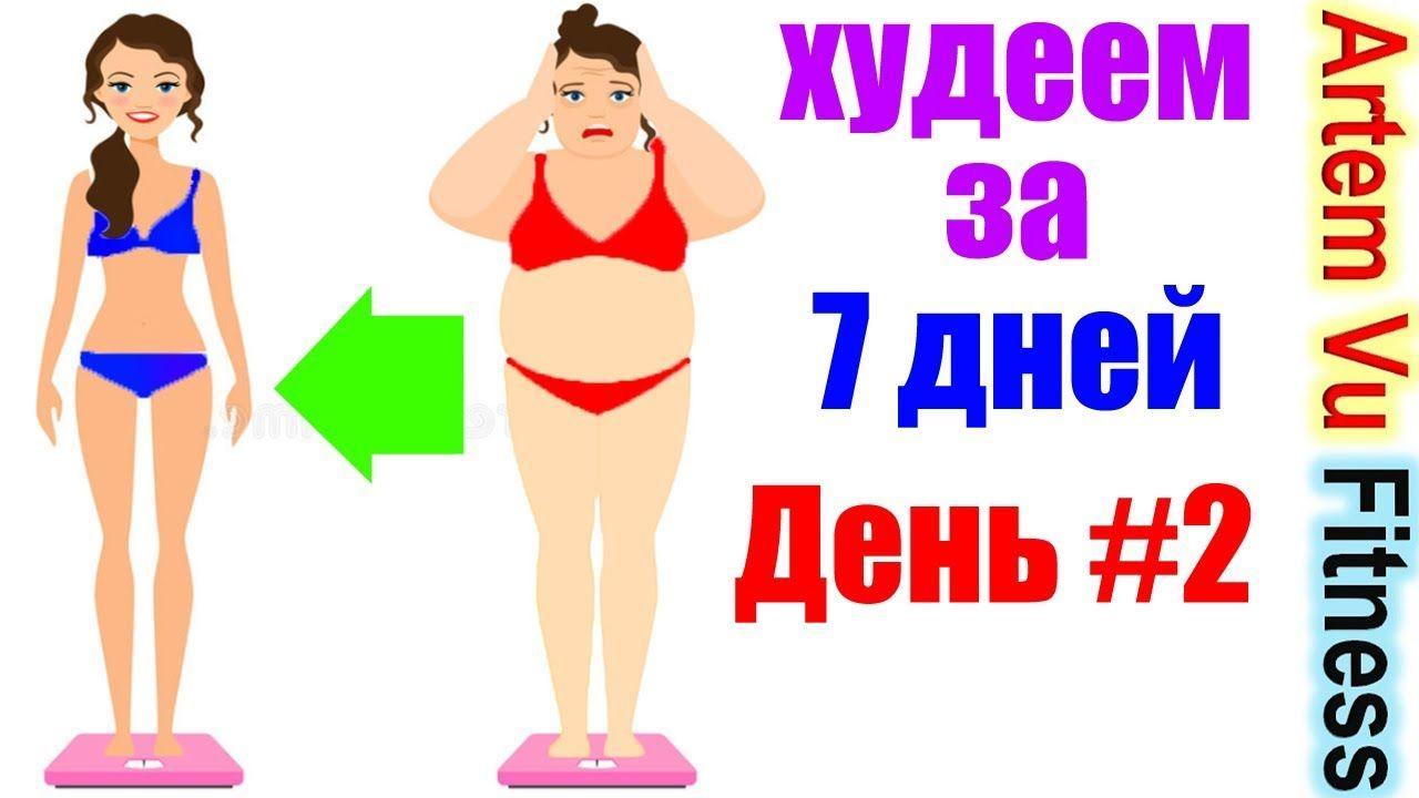 тренировки для похудения за 2 недели