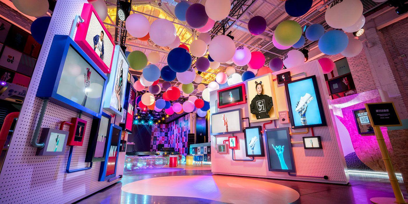 Nike Air Max 2017 on Behance   Imagination Display   Air max