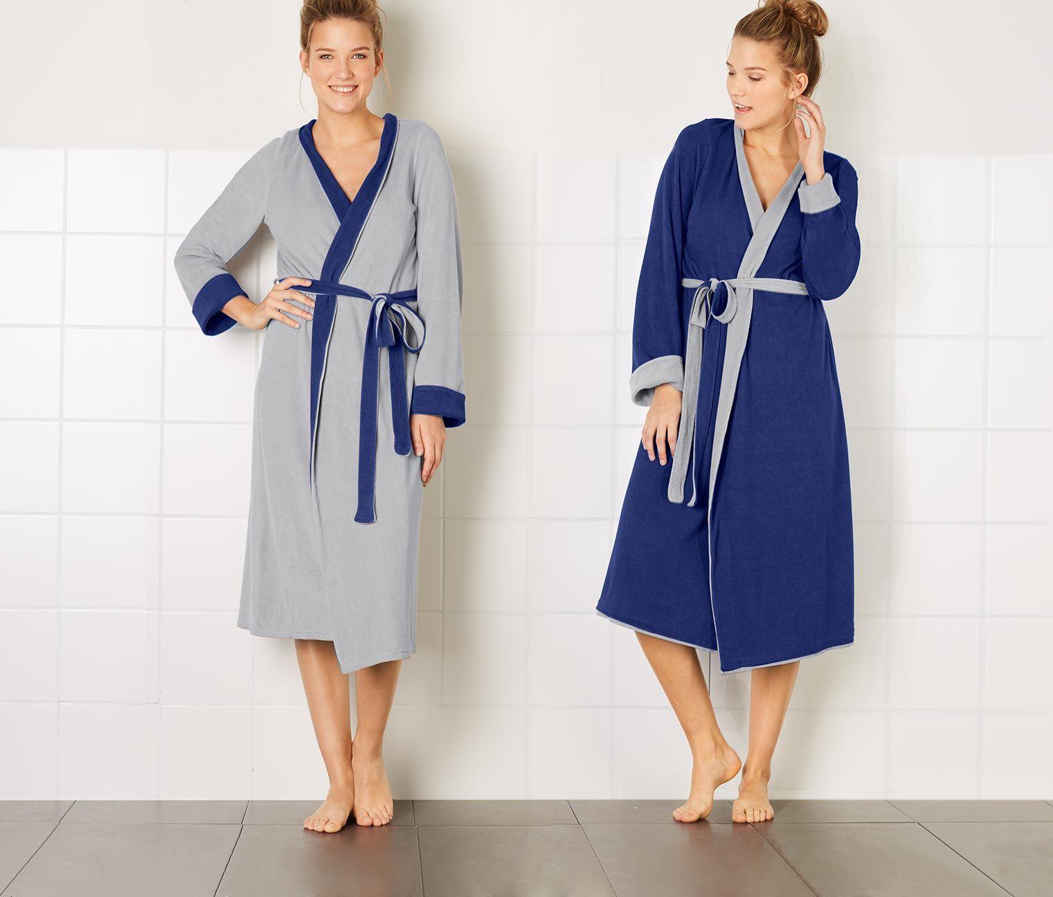 Obojstranný kúpací plášť