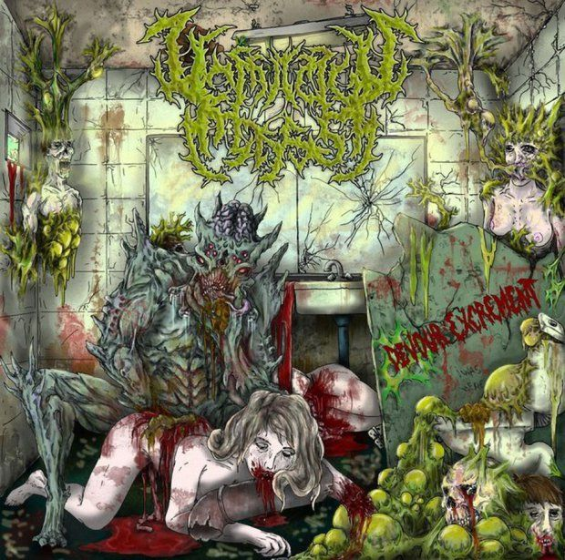 Vomitous Mass - Devour Excrement [single] (2013), Slamming Brutal Death Metal