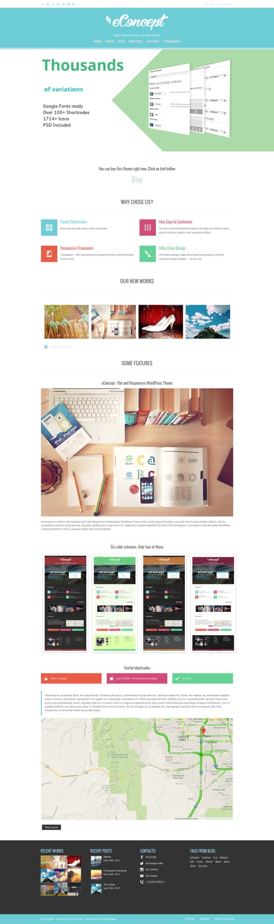 eConcept WordPress Theme