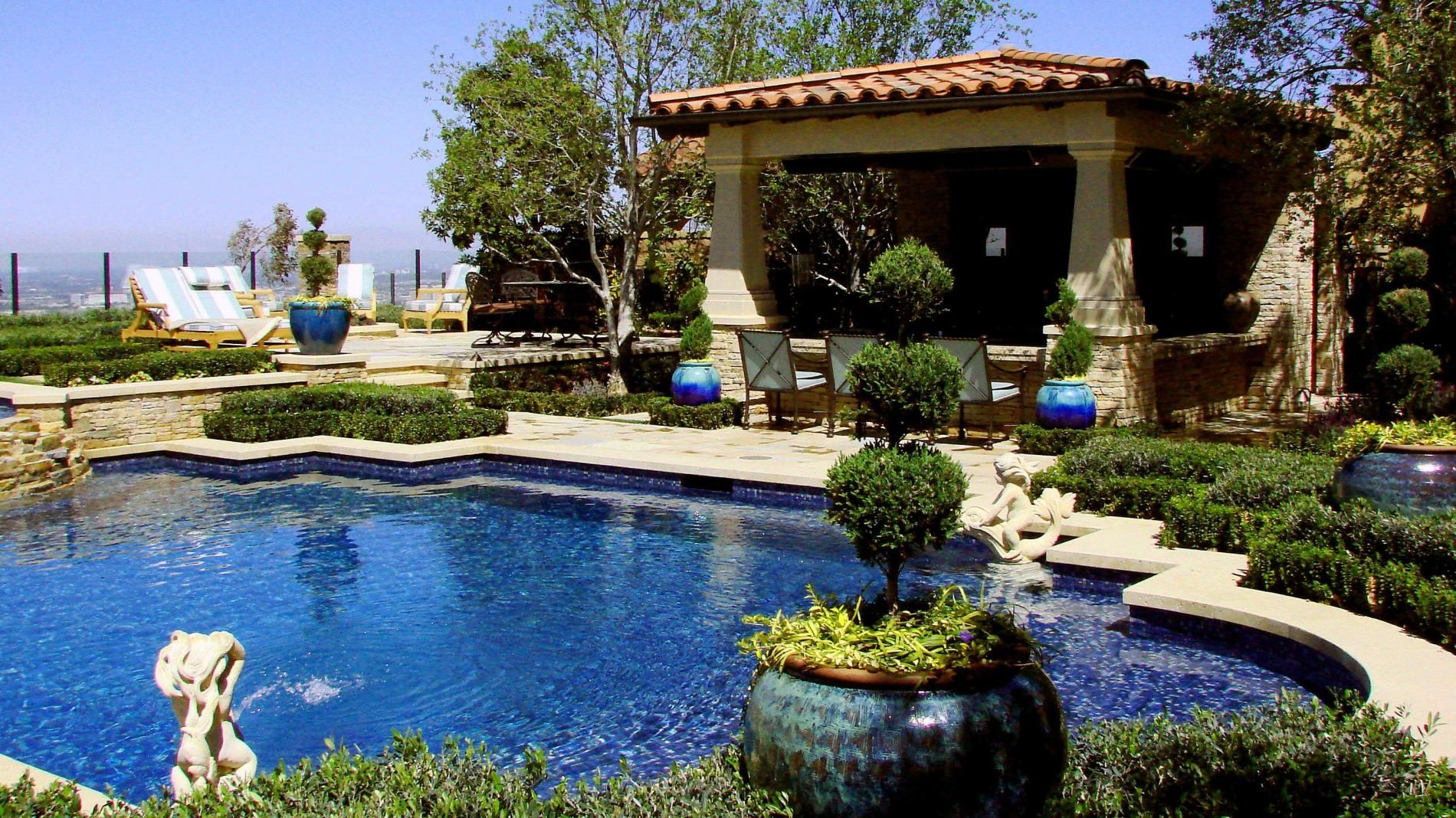 pool ideas pictures with landscaping | pool design and pool ideas