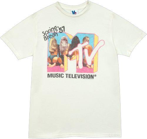 f45b785bb spring breakers mtv t shirt Junk Food T Shirts, New Shirt Design, Spring  Breakers
