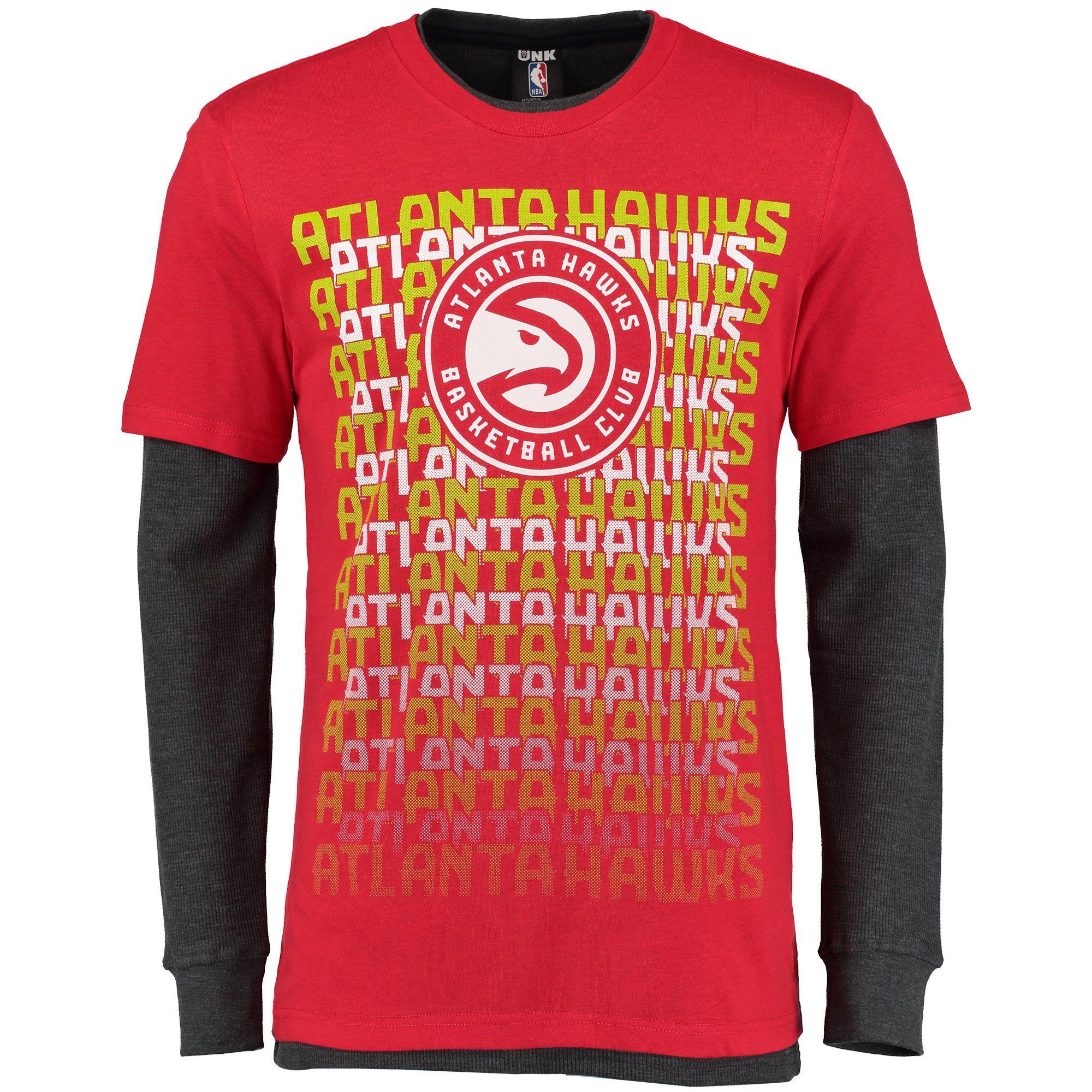 3843214eb NBA Atlanta Hawks 3-in-1 Combo T-Shirt Set - Red Charcoal