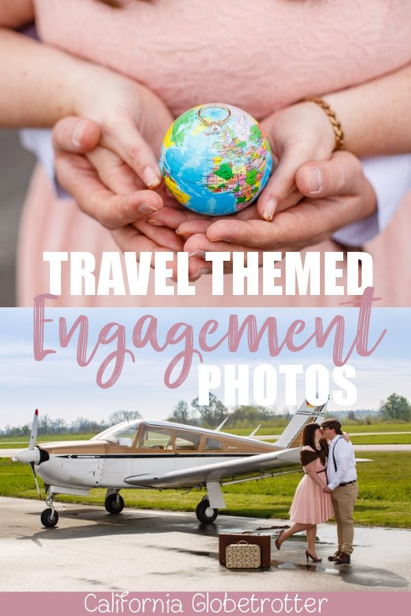 HOW To Take Travel Themed Engagement Pictures