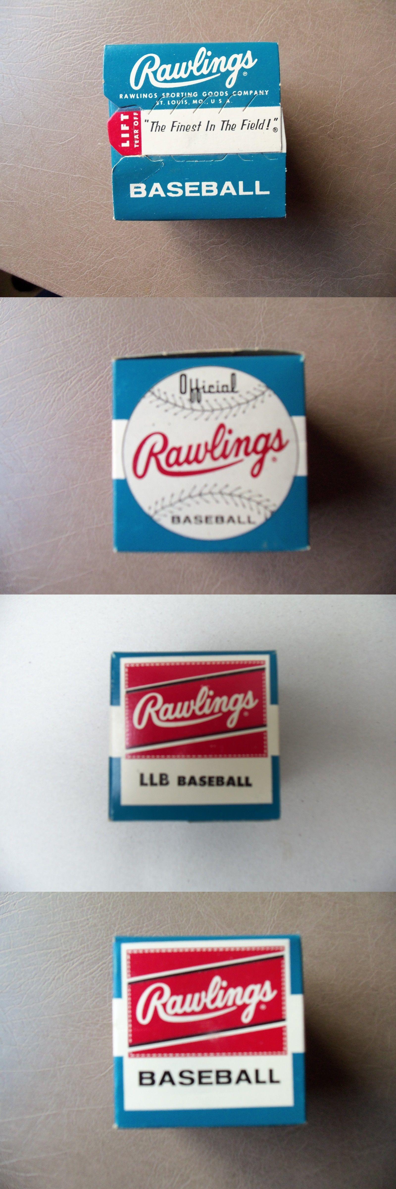 Baseballs 73893: 1960S , Vintage, Rawlings Little League