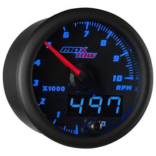 Amazon Com  Reddragonfly  H 12000 Rpm Lcd Digital Speedometer Tachometer Odometer Mph