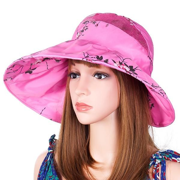 159297f2 Women Summer Foldable Wide Brim Sunscreen Hats in 2019 | Products ...
