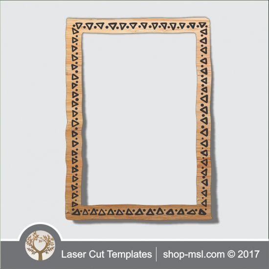 Product laser cut photo frames template, online laser cut design ...