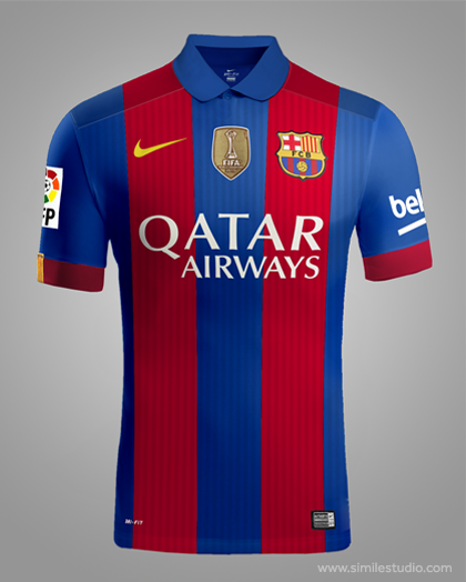 f83982b8158d0 F.C. Barcelona 2016 2017 Rumores (Concept Kit) on Behance