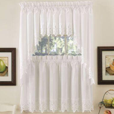 Hanna Kitchen Curtains found at @JCPenney in 2020 | Kitchen ...