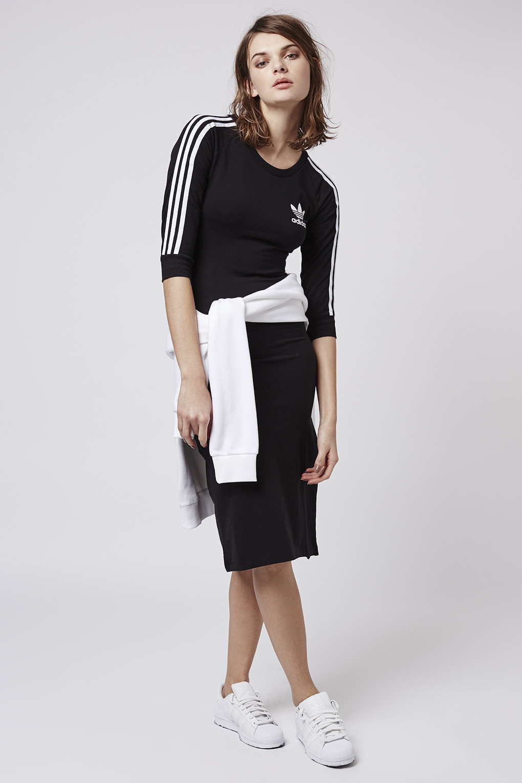 big sale 9f32e ffb11 Photo 3 of Three Stripe Dress by Adidas Originals