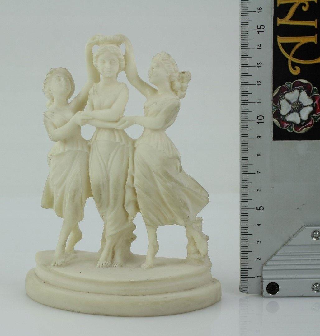 Pchli Targ Figurka Trzy Gracje Z Alabastru 7902260412 Oficjalne Archiwum Allegro Bookends Decor Allegro