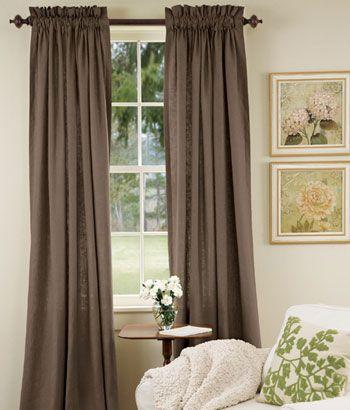 pure linen lined rod pocket curtains home pinterest rod pocket rh nz pinterest com