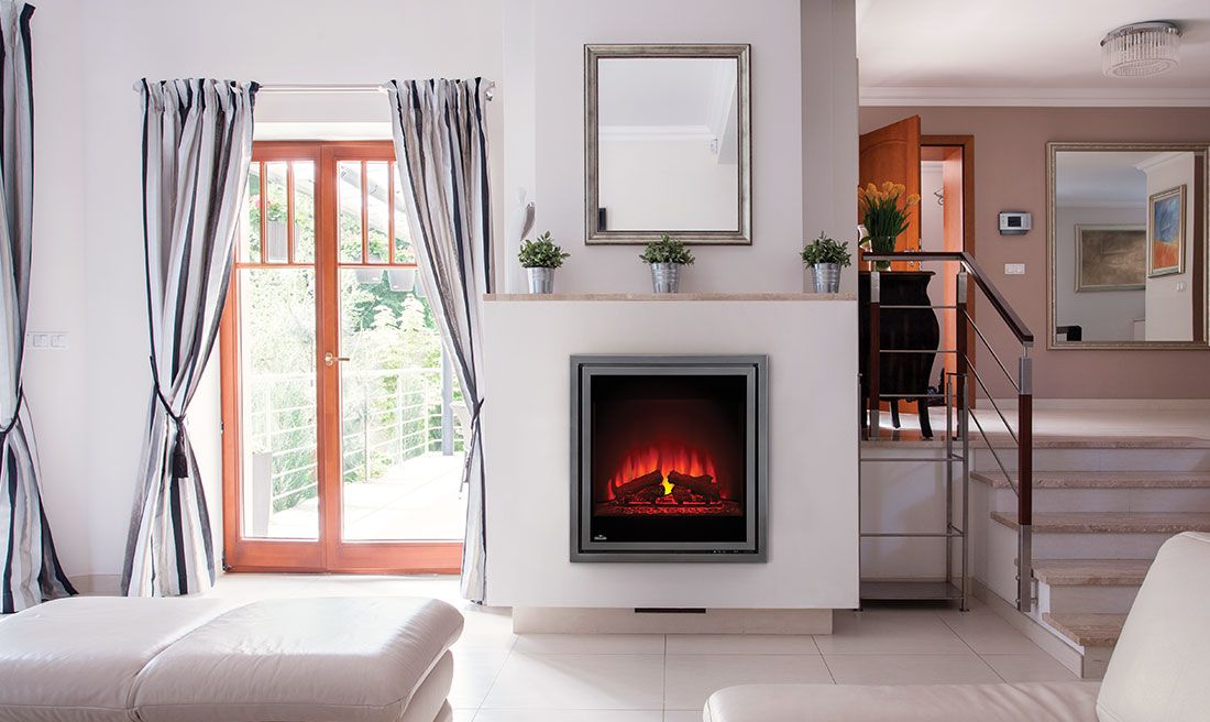 Napoleon S Tranquille 30 Electric Fireplace Comes Complete With