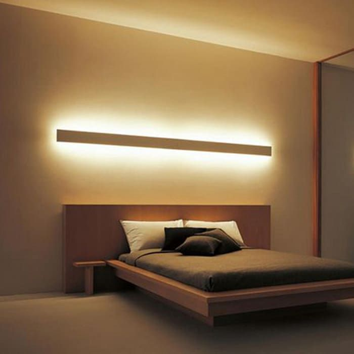 Cornice per led bidirezionale a parete di eleni lighting