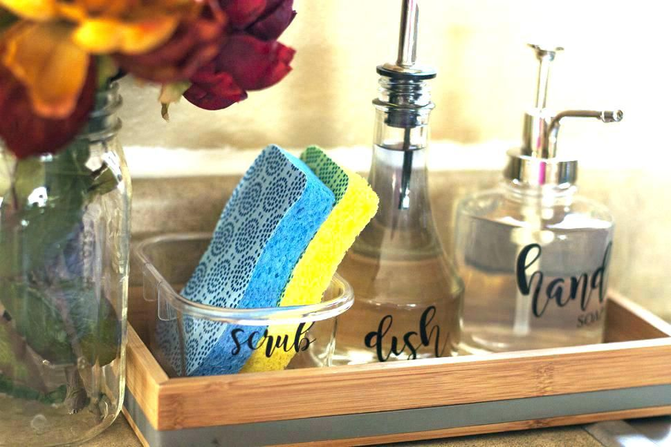 liquid soap dispenser kitchen sink | Kitchen sink decor ...