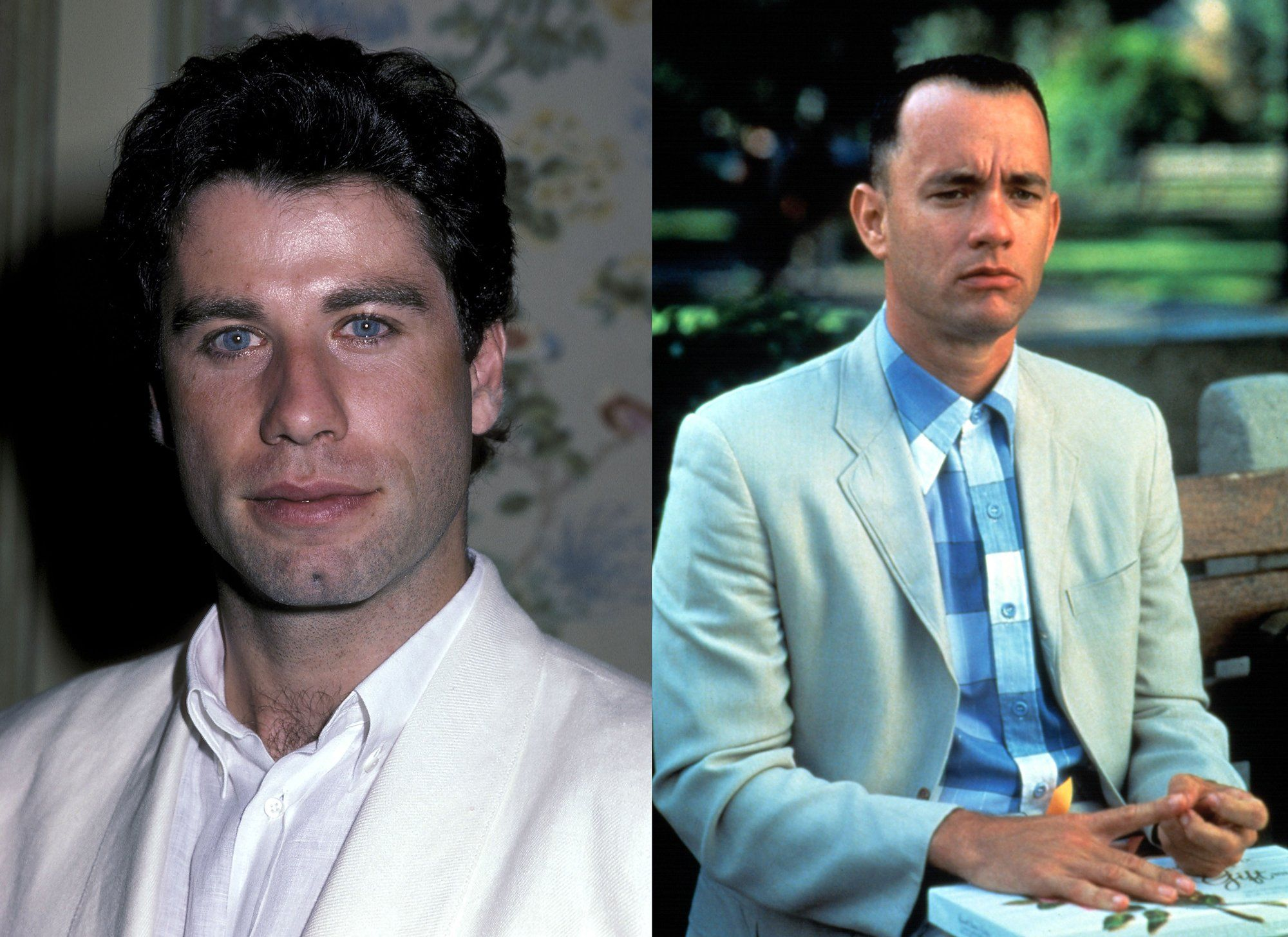 John Travolta rejected the role of Forest Gump Dustin Hoffman, one of the actors who regretted turning down the role.