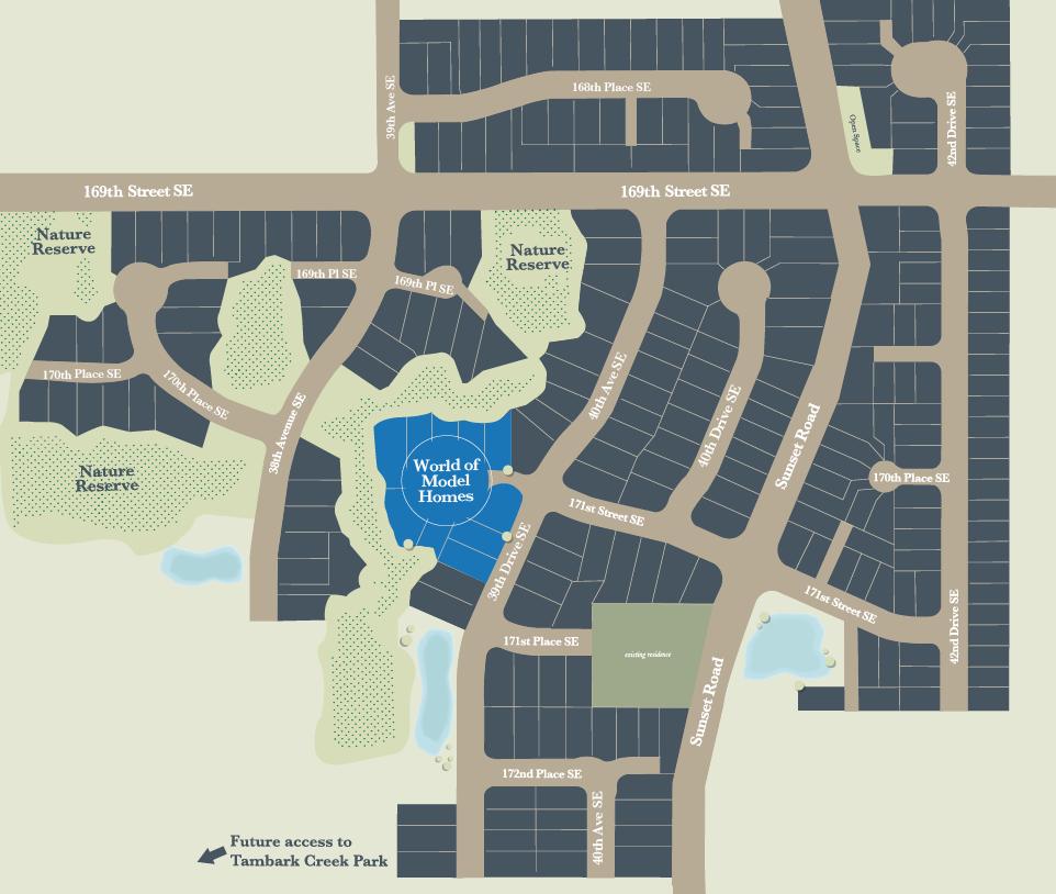 Parkhaven - Overview Map