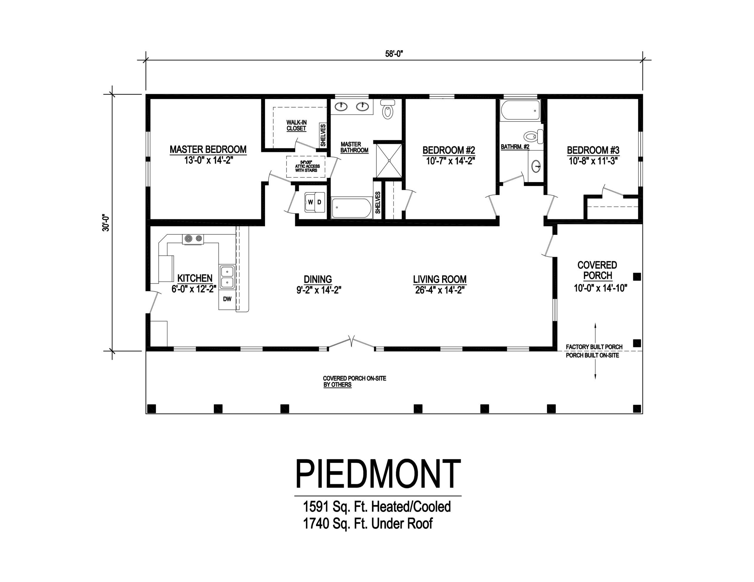 Piedmont Affinity Building Systems Llc Country Style House Plans Modular Home Floor Plans Cottage Floor Plans