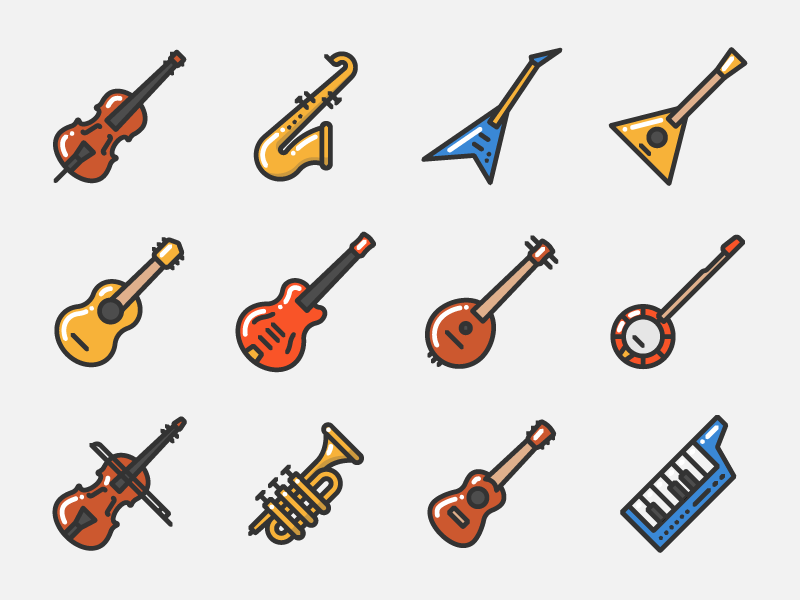 Music Instruments Music Doodle Music Instruments Music Illustration