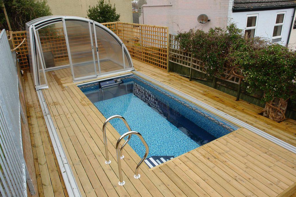 Enclosed endless pool pool enclosures swimming pool