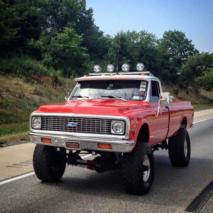 classic chevrolet k20 custom lifted 4x4 truckin it
