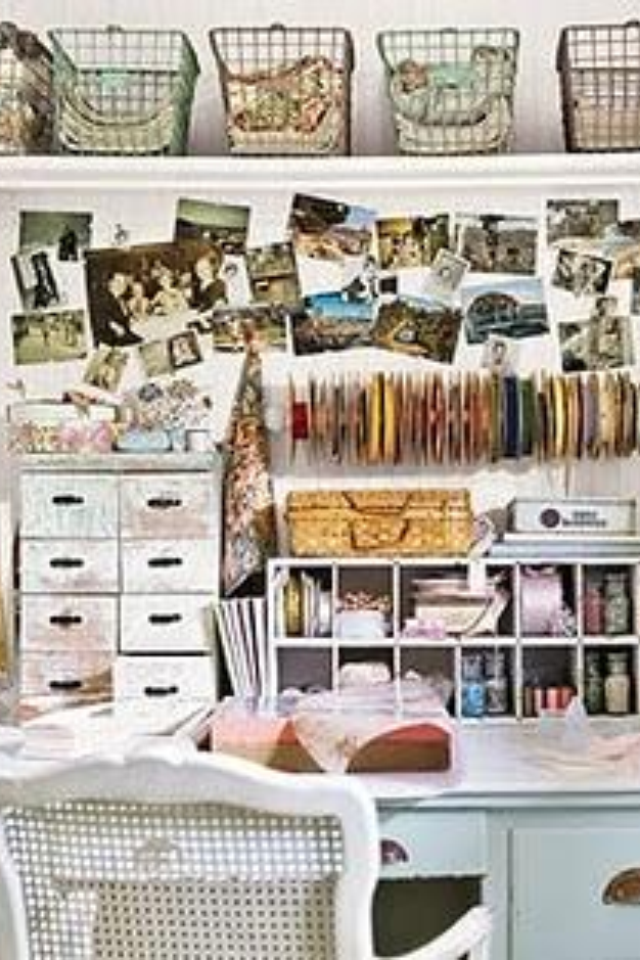 39 Ways to Sneak Storage Into Your Home | Shabby chic ...