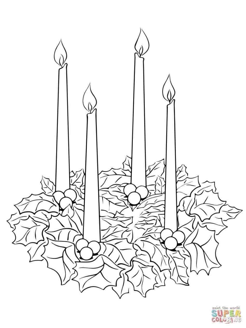 xmast.site  Advent coloring, Christmas coloring pages, Advent wreath