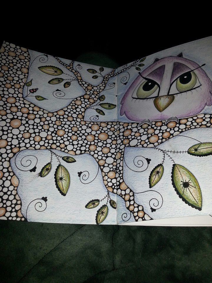 #art journal #doodle #owl