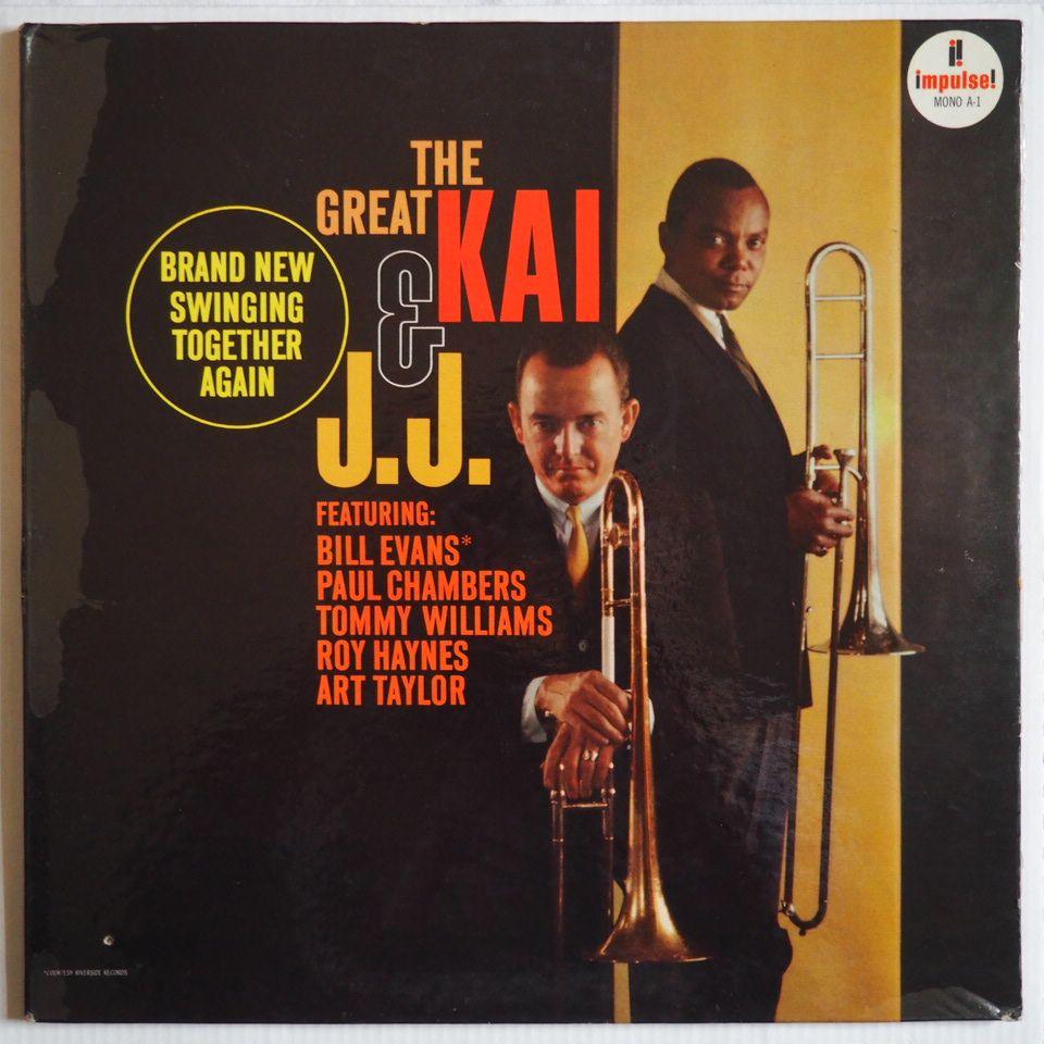 Impulse A-1 Kai Winding / J.J. Johnson - The Great Kai And J.J.