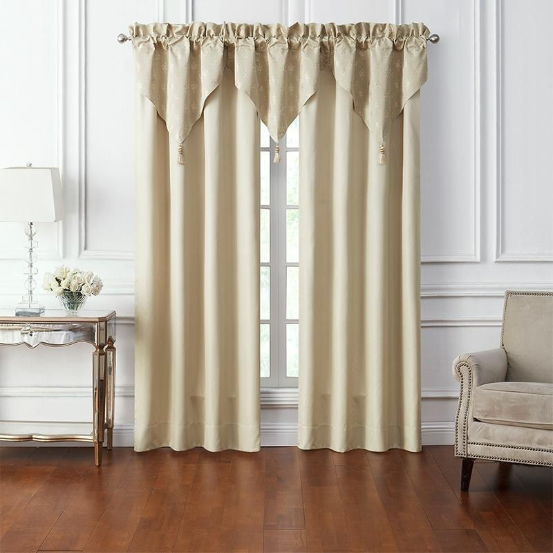 Annalise Gold Window Panel Pair By Waterford Window Panels