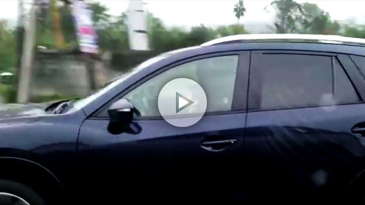La tremenda pillada de este niño conduciendo a 100 km/h