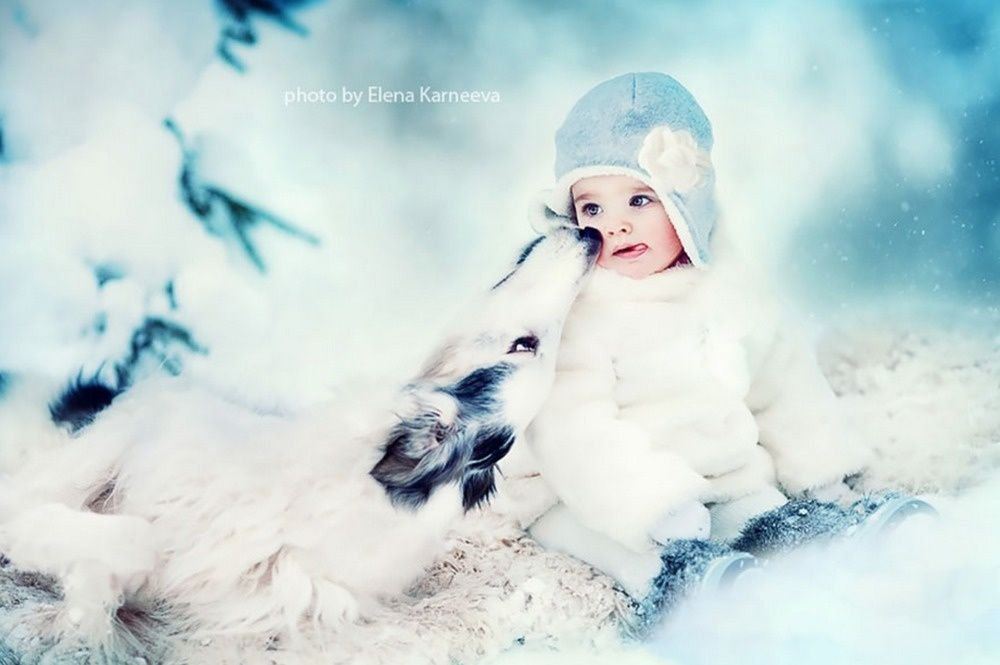 She Captures The Perfect Moment Between Children And REAL Animals.
