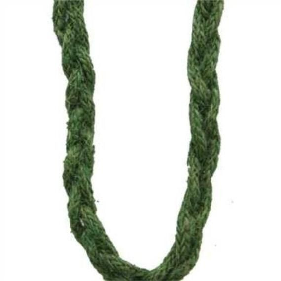 Photo of Green abseiling for wreath, wired green rope, 0.5 inch wired green rope, decorative mesh accessories, wreath mak