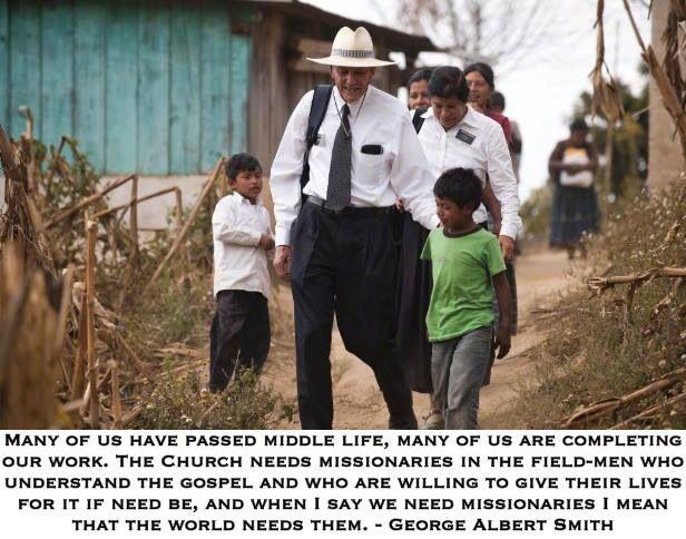The world needs true servants.  #alwaysamissionary