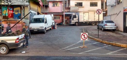 BelaVista.com: Transito ao Lado da Praça do Povo em João Monlevad...
