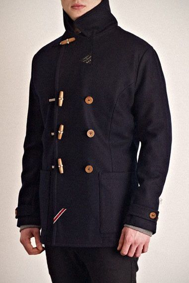 CLASSIC PEA COAT £250.00 A Navalinspired classic pea coat