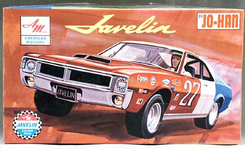 Jo Han Amc Javelin Model Cars Kits Plastic Model Kits Plastic Model Cars