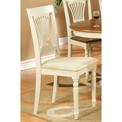 Wooden Importers Plainville Side Chair & Reviews | Wayfair