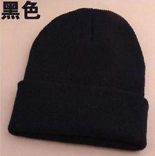 Men's Women Beanie Knit Ski Cap Hip-Hop Blank Color Winter Warm Unisex Wool Hat http://ift.tt/1iFcTMU