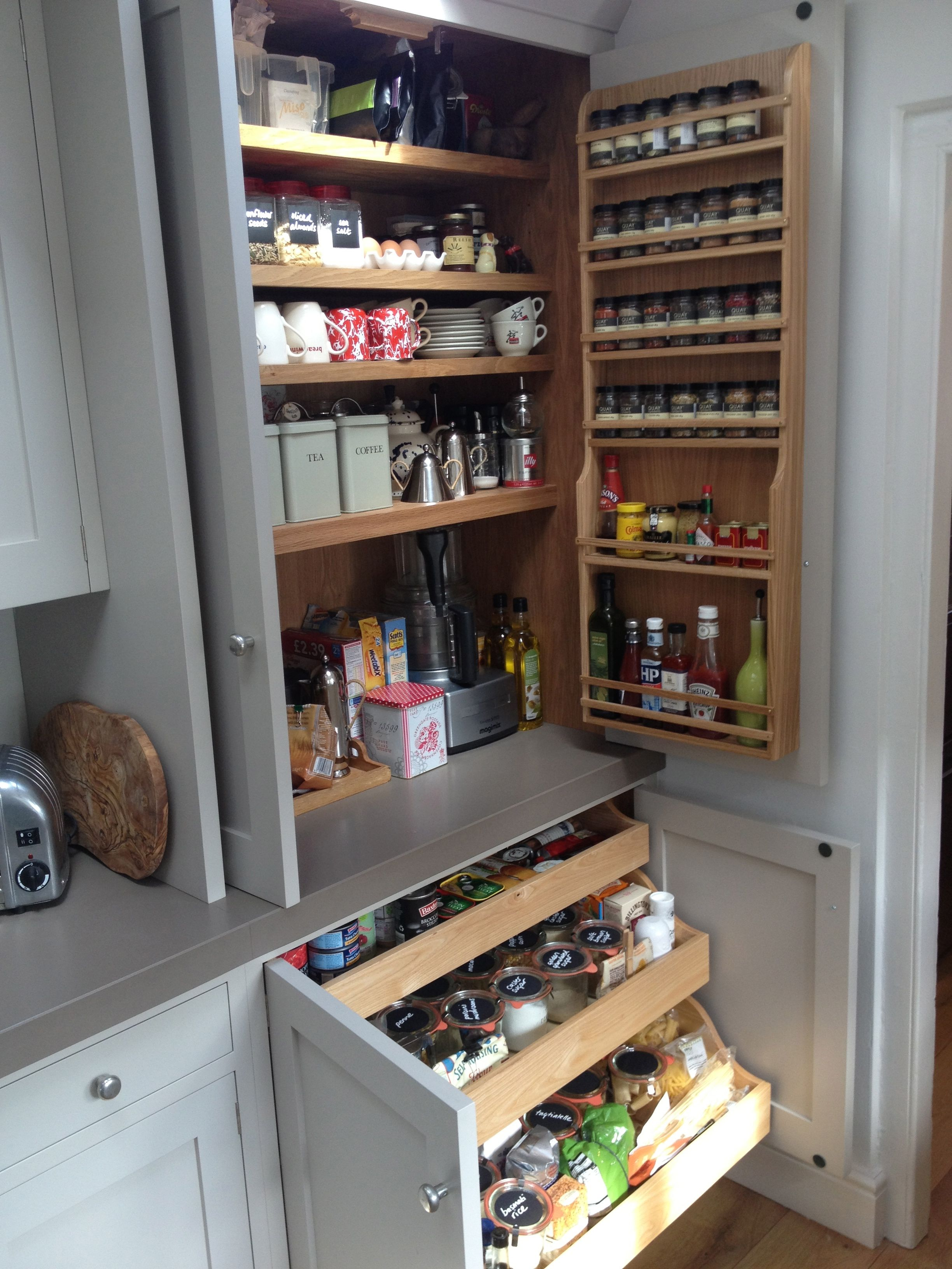 Best Lovely Larder Pull Out Shelves In The Bottom Cupboards 400 x 300