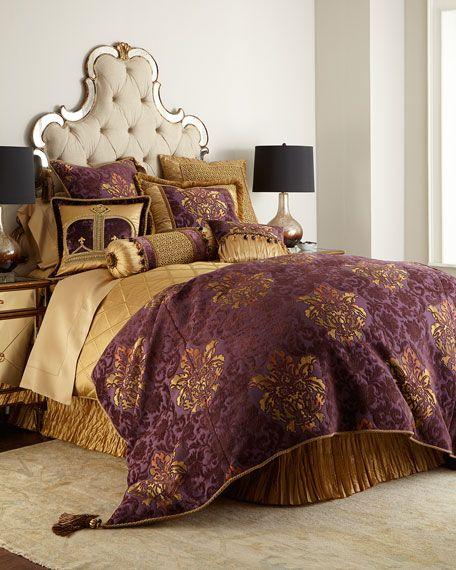 7104e4908e Dian Austin Couture Home Royal Court Bedding & Matching Items   Neiman  Marcus