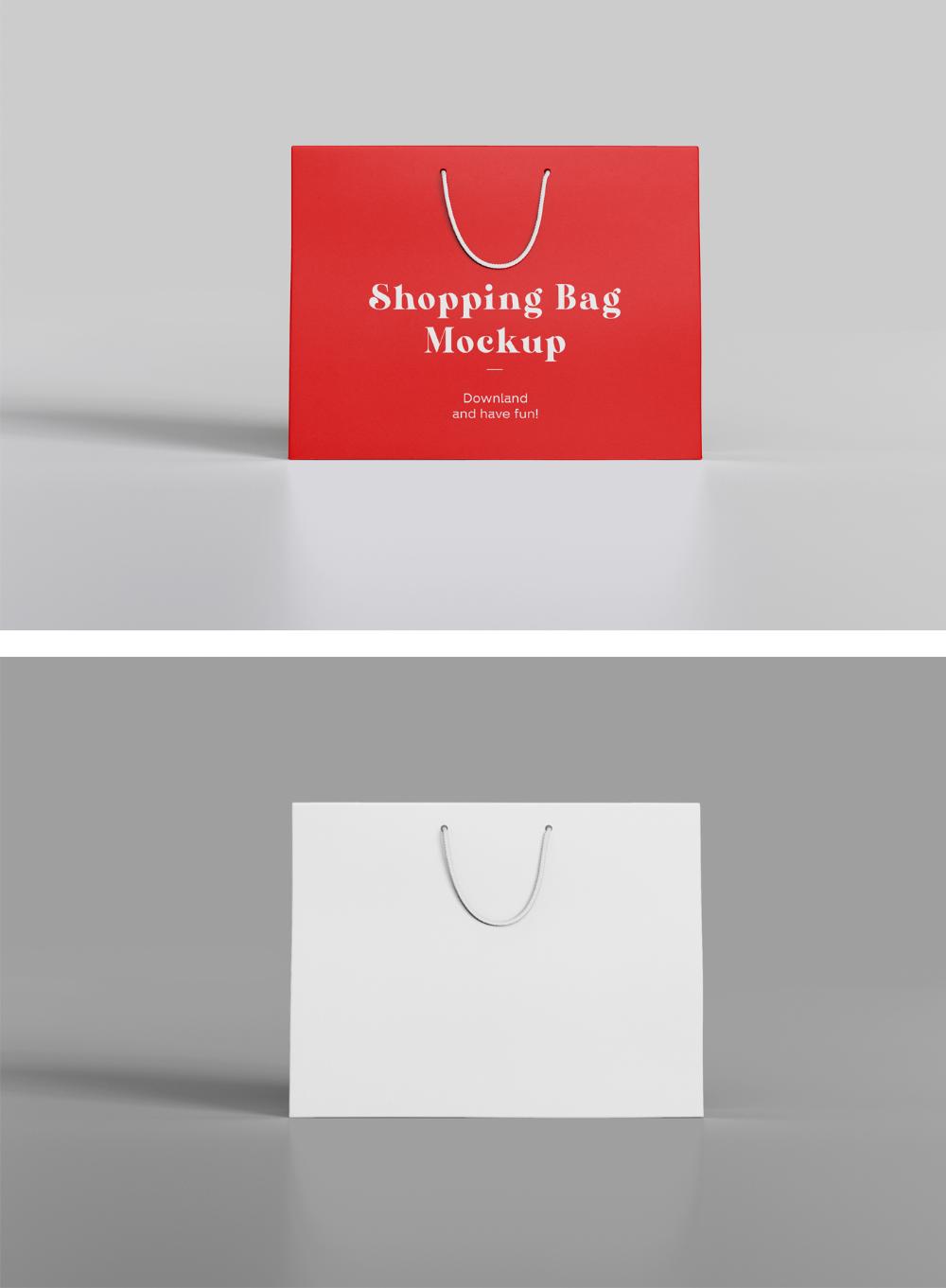 Download Front Shopping Bag Mockup Mr Mockup Graphic Design Freebies Graphic Design Freebies Design Freebie Bag Mockup